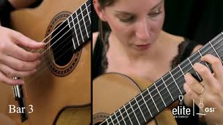 Learn to Play La Cathedral (II) - EliteGuitarist.com Classical Guitar Tutorial Part 1/4