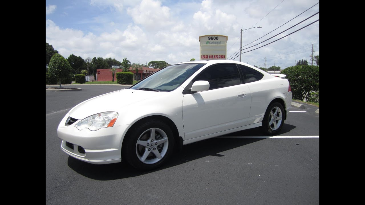 sold 2002 acura rsx type s v tec 6 speed manual meticulous. Black Bedroom Furniture Sets. Home Design Ideas