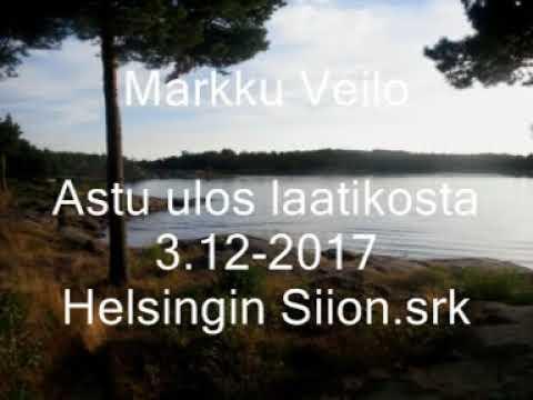 Markku Veilo-Astu ulos laatikosta