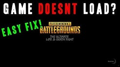 Stuck on the loading screen? EASY FIX! - Playerunknown's battlegrounds