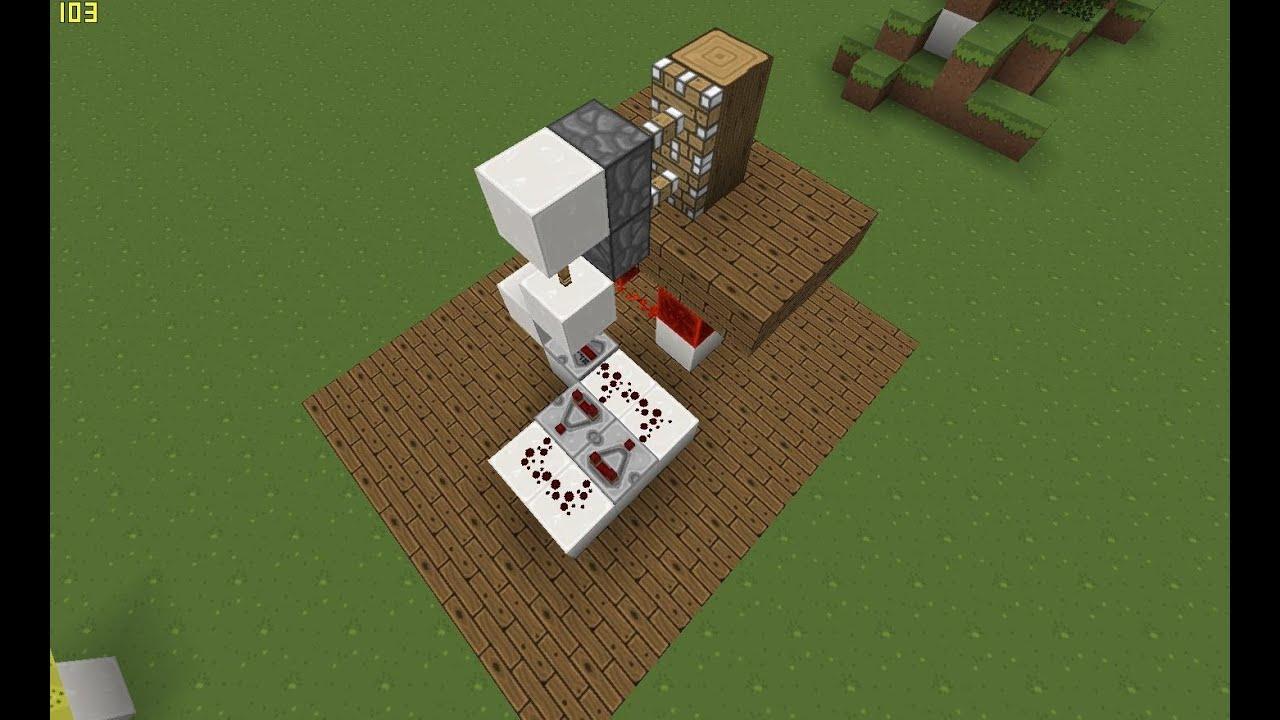 passage secret dans le tronc d 39 un arbre tuto minecraft. Black Bedroom Furniture Sets. Home Design Ideas