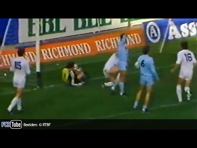 1986-1987 - Beker Van België - 02. 16de Finale - Club Brugge - Francs Borains 4-0