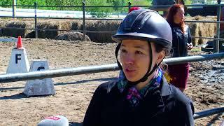 В Благовещенске прошло первенство по адаптивному конному спорту