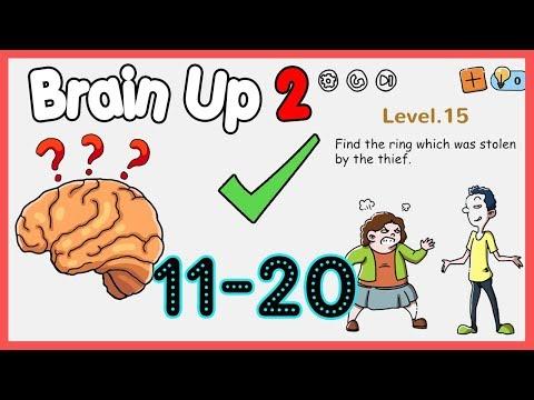 Brain Up 2 Level 11 12 13 14 15 16 17 18 19 20 Walkthrough Solution