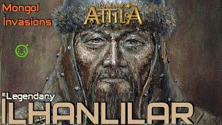 İLHANLILAR Ulus of Tolui #01 [LEGENDARY] - Medieval Kingdoms 1212 AD Total War: Attila [TÜRKÇE]