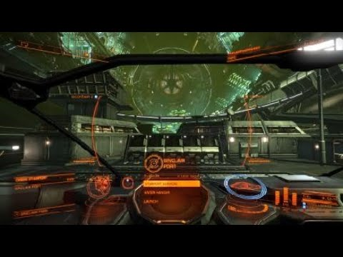Elite Dangerous: Hilarious auto-dock music