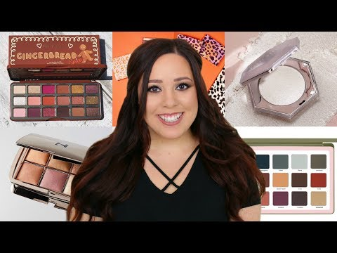 NEW MAKEUP RELEASES HOLIDAY 2018 & MORE! PURCHASE OR PASS?