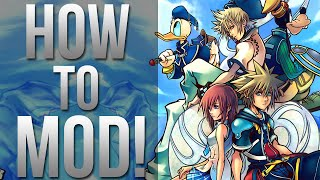 How to Mod Kingdom Hearts 2! - Play as Different Characters, Cheats and More!