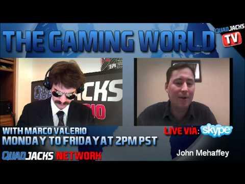 The Gaming World with John Mehaffey part 2/2 | Monday January 23 2012