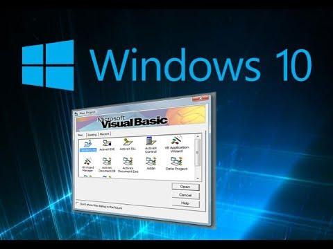 How To Install Visual Basic 6 0 On Windows 10 32 64bit