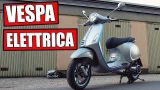 VESPA ELETTRICA  - MOTORRAD TEST