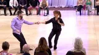 Ben Morris & Melissa Rutz 2015 Capital Swing Champion J&J Winners
