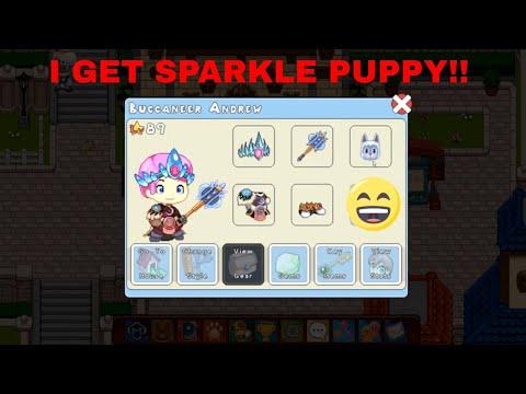 I GET SPARKLE PUPPY!