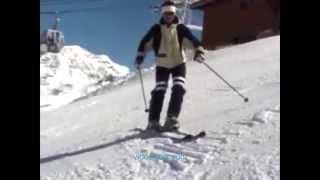 Как делать короткие повороты на горных лыжах