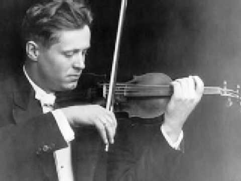 Adolf Busch plays Bach Ciaccona (1)