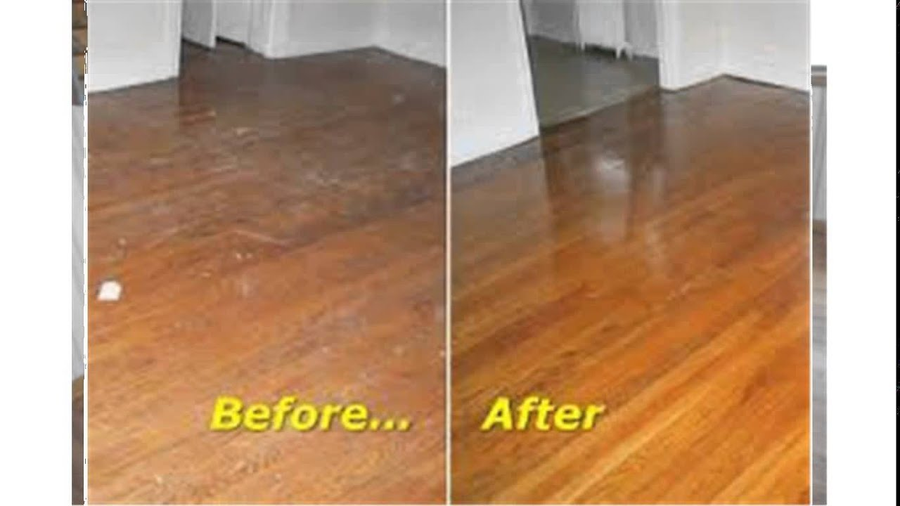 buffing hardwood floors - Buffing Hardwood Floors - YouTube