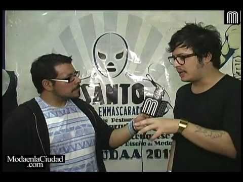 Unimodaa 2011 ::: Francisco Saldaña entrevistando a Guillem Pericay ::: www.ModaenlaCiudad.com