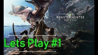 Monster Hunter World Highest Setting Lets Play #1
