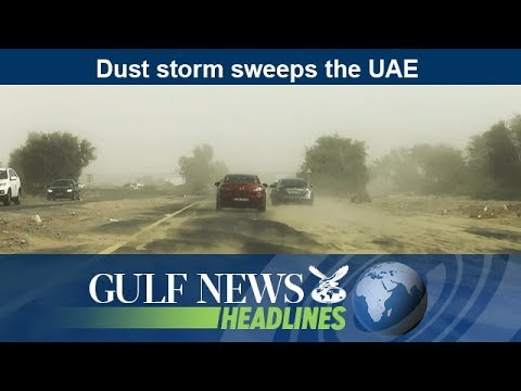 Dust storm sweeps the UAE - GN Headlines