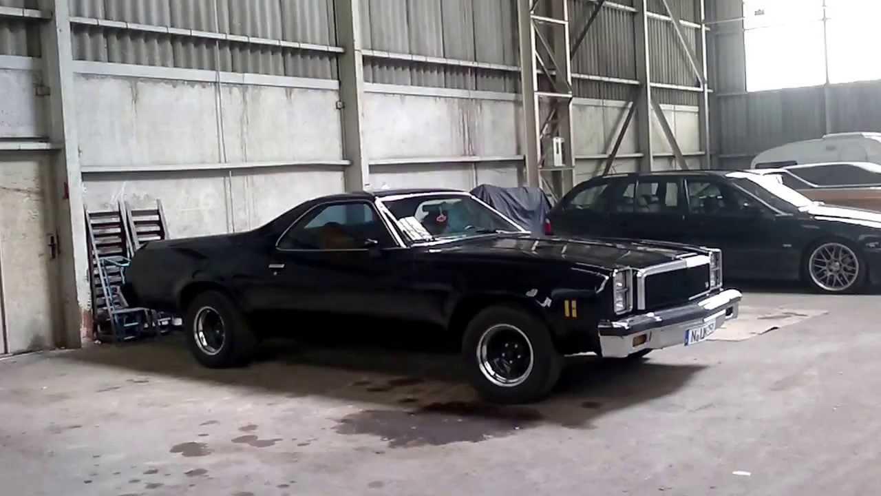 All Chevy 1976 chevy el camino : Chevrolet El Camino 76 77 cold start - YouTube