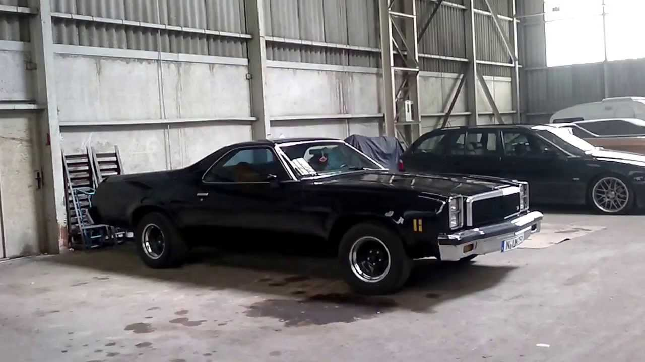 Chevrolet El Camino 76 77 Cold Start Youtube