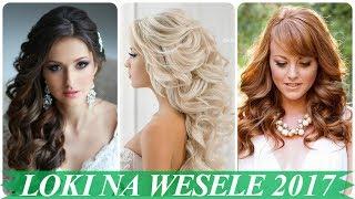 Ładne fryzury na wesele loki