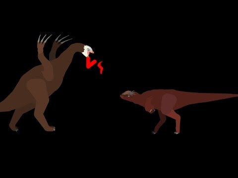 MBA: therizinosaurus vs stygimoloch (quick battle )
