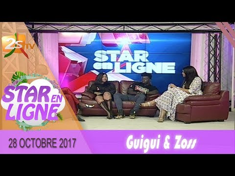 GUIGUI & ZOSS INVITÉS DE STAR EN LIGNE AVEC ABBA ET YAWA - 28 OCTOBRE 2017