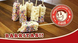 Barritas de Cereal (Rice Krispie Treats) - El Guzii