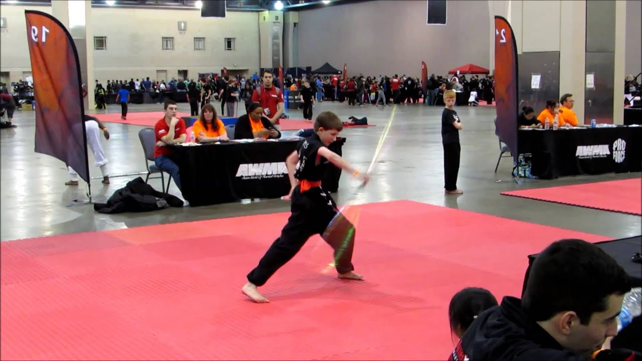 Austin Landis Bo staff form Amerikick 2015 - YouTube