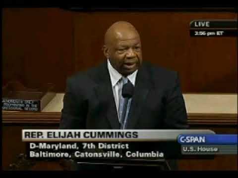 Rep. Elijah E. Cummings 7th District MD
