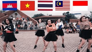 Southeast Asia Cover Dance K-POP [Cambodia,Vietnam,Thailand,Malaysia,Indonesia]
