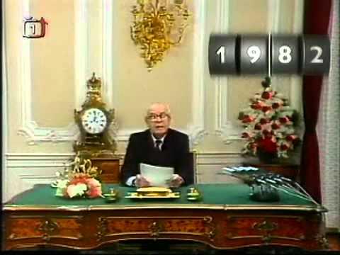 Gustáv Husák - Novoroční projevy 1976 - 1989 - unikátní a zábavný sestřih.