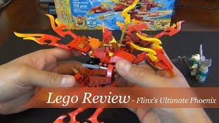 Review - Lego Chima Flinx's Ultimate Phoenix Set #70221