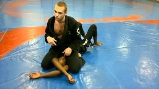 Alpha fight club : Technique de clés de bras (juji gatame) après position montée (S mount)