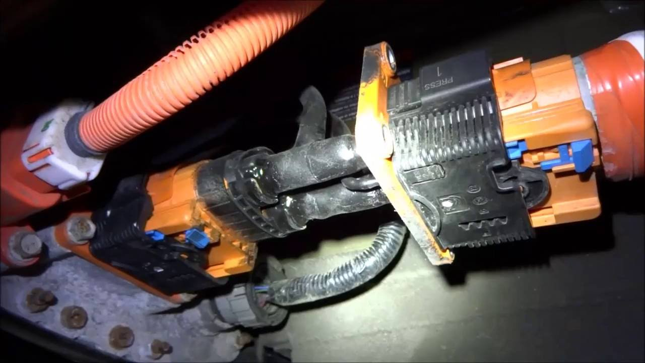 Nissan Leaf Range Extender Pack Build Pt 1 4 Splice Of The High Voltage Cable Complete You