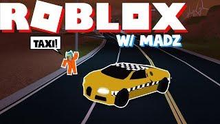 TROLLING AS A TAXI DRIVER (Roblox Jailbreak!) W/MADZ