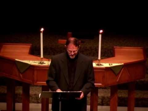 """08 07 2016 Sermon Intern Eric Steward """"Know Faith, No Fear"""""""