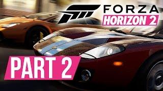 Forza Horizon 2 Gameplay Walkthrough Part 2 - FIRST EVENT - Xbox Gameplay