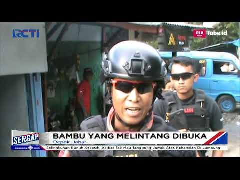 Tim Jaguar Polres Depok Ngamuk saat Amankan Preman yang Menutup Jembatan Pitara Depok - Sergap 25/12