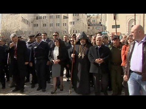 Armenians Celebrate Christmas In West Bank Town Of Bethlehem