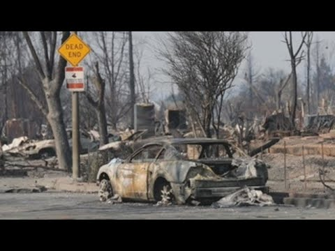 Death toll in Northern California wildfires rises to 41