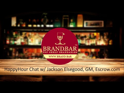 HappyHour Chat with Jackson Elsegood, Escrow com