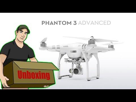 Unboxing Drone DGI Phantom 3 Advance | Mi Drone 90 |