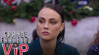 Grande Fratello Vip - Le reazione di Rosalinda Cannavò alle parole di Dayane Mello