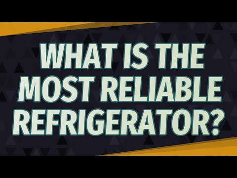 Most Reliable Refrigerator >> What Is The Most Reliable Refrigerator Youtube