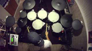 Queensryche - Spreading the Disease - V-Drum Cover - TD20x - Drumdog69 - HD