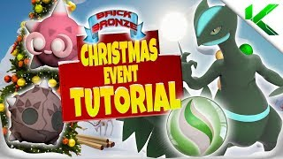 NEW CHRISTMAS EVENT IN BRICK BRONZE! TUTORIAL! - Pokemon Brick Bronze