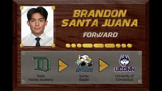 Brandon Santa Juana - CSSHL to BCHL to NCAA D1 | Stand Out Sports Client Hall of Fame