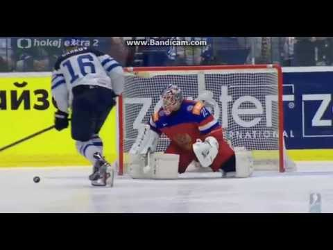 Finland - Russia : Epic shootout | MS 2015